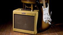 Amazing Photo Wallpaper Fender Stratocaster And Amplifier