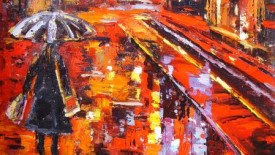 Amazing Abstract Painting Fine Art by Frank