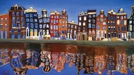 Unique Building In Amsterdam City Photo Dekstop