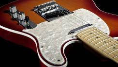 Fender American Deluxe Telecaster Guitar Wallpaper