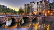 World City Visits Amsterdam The Capital Of The Netherlands