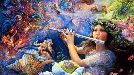 Beautiful Josephine Wall Fantasy Art Paintings