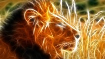 Free Art 3D Lion King Animal Wallpaper Background