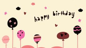 Wallpapers Happy Birthday HD Widescreen