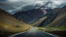 Mountain Road Wallpaper
