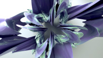 3D Abstract Flower Fantasy Wallpaper HD Desktop Gallery Free