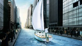 3D Unique City Yachting Widescreen HD Wallpapers Cities