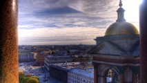 Amazing Sky And City HD Wallpaper 3D Cities Wallpaper