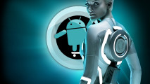 CyanogenMod Tron 3D Android Wallpaper Best Android Wallpapers