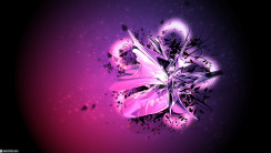You Are Viewing The Best 3D Abstract Black Purple Wallpaper Named