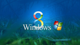 3D Windows 8 Green Blue Wallpapers Picture Image 2013