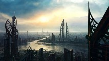 Future Cityscape Photo Picture City 3D Wallpapers