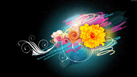 Wallpapers Colorful Art Images HD Flower Vector Designs