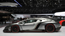 Lamborghini Veneno From The Side Photo HD Wallpaper