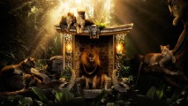 Creative Lion King Animal Digital Art Wallpapers For Desktop