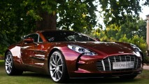 Best HD Desktop Wallpaper Red Aston Martin One 77 In Nature