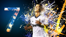 Free Download Cristiano Ronaldo Number Seven Wallpaper Image