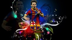 Lionel Messi FC Barcelona Wallpaper HD Background Desktop
