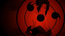 Uchiha Sasuke Sharingan Anime Cartoon Manga HD Wallpaper