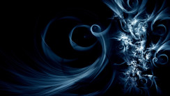 Awesome Blue And Black Abstract HD Wallpapers Picture
