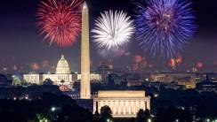 Firework At Washington DC Photo HD Wallpaper For Desktop