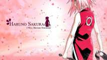 Haruno Sakura Anime Manga HD Wallpaper Background