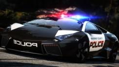 Lamborghini Reventon For Ploice Car Hot Pursuit HD Wallpaper