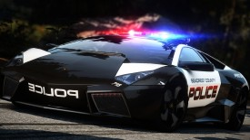 Lamborghini Reventon For Ploice Car Hot Pursuit HD Wallpaper