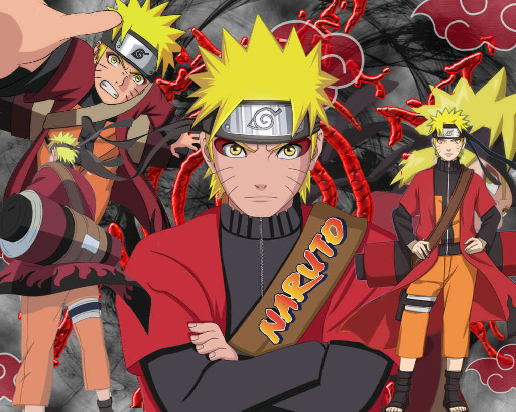 Naruto Uzumaki Grow Up To Hokage HD Wallpapers In Cartoon | WALLSEV.