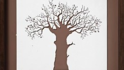 Awesome Art Paper Tree Picture Photo Wallpaper