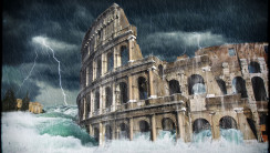 Awesome Colleseum The Architectural Photography HD Wallpaper