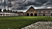 Free Downloads Exotic Architectural Photography With Dark Clouds Edit