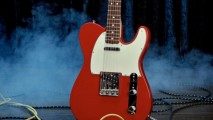 Red White Color Fender Telecaster NOS Dakota Guitar HD Wallpaper