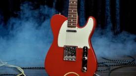 Red White Color Fender Telecaster NOS Dakota Guitar HD Wallpaper