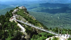 Aerial Photography Bridge Mountain High Resolution In HD Wallpaper