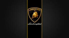 New Lamborghini Logo Full HD Wallpaper Widescreen For PC Desktop