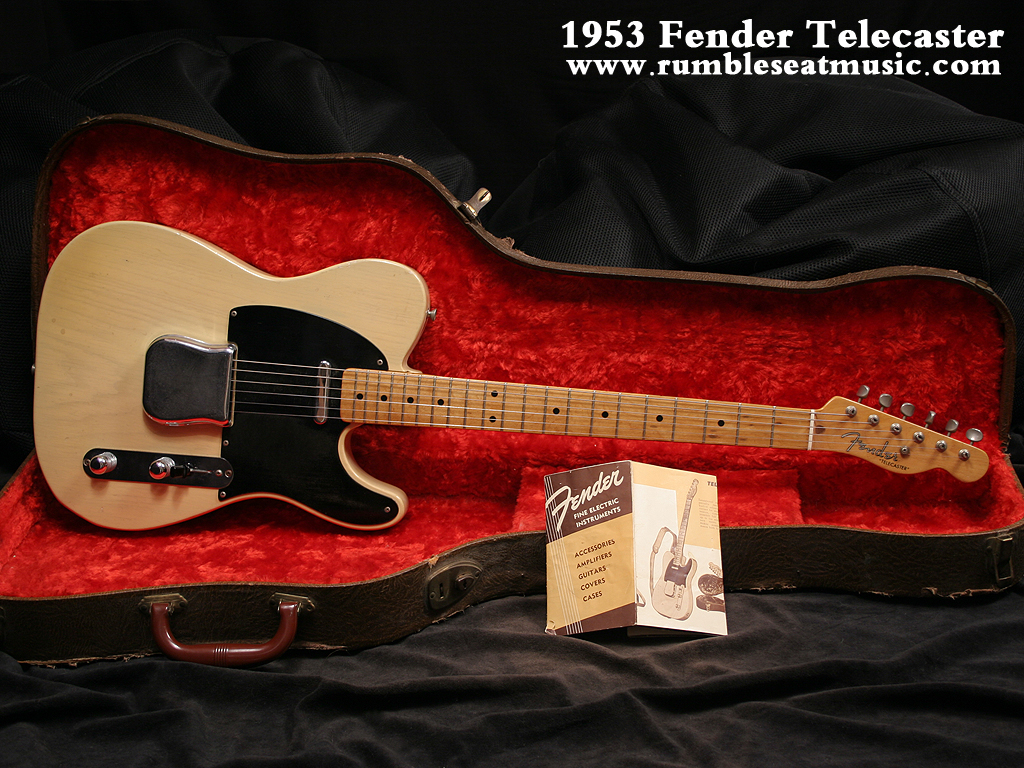Fender Telecaster Guitar From 1953 Years Picture Photo