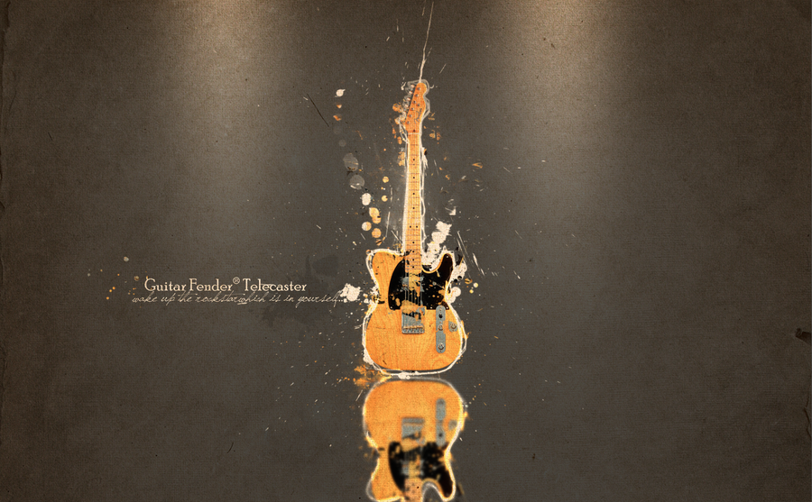 Awesome HD Wallpaper Guitar Fender Telecaster For Your PC