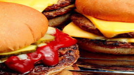 Hamburgers Fast Food Photgraphy HD Wallpaper Image Picture