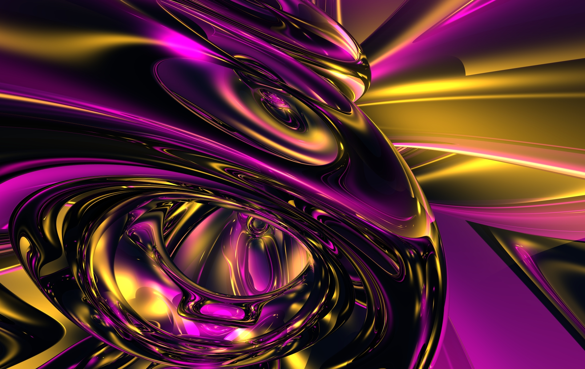Amazing Gold And Purple Abstract Image Picture HD ...