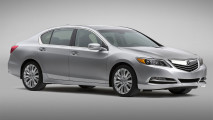 All New In 2014 Acura RLX Silver Color Picture HD Wallpaper Background