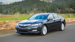 2014 Acura RLX Front Three Quarters In Motion Photo Free Download