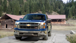 2014 Chevrolet Silverado Blue Color Pictures Free Download