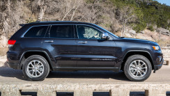 2014 Jeep Grand Cherokee Diesel Side View Photo Picture HD Wallpaper