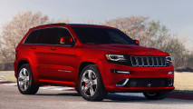 2014 Jeep Grand-Cherokee SRT Red Color Photo Picture Image HD Wallpaper