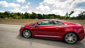 Beautiful Red Cadillac ELR On The Street Photo And Picture Sharing