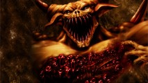 Blood Demon Monster Wallpaper HD Widescreen For Your PC Computer