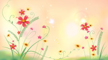 Awesome Abstract Flowers HD Wallpaper Image Picture Free Download