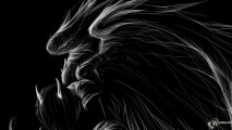 Amazing Fantasy Dark Angel Black Background HD Wallpaper Image