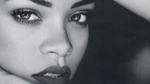 Rihanna WIth Black And White Photo And Picture Sharing Free Download